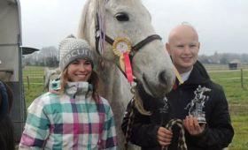 Chevaux et cavaliers du Bourdalat médaillés